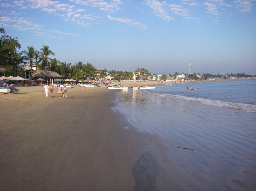Beach at Melaque